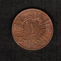 IRAQ  1 FIL 1938 (1357) (KM # 102) - Iraq