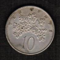 JAMAICA  10 CENTS 1969 (KM # 47) - Jamaica