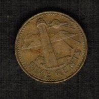 BARBADOS  5 CENTS 1986 (KM # 11) - Barbados