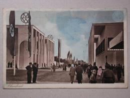 """Grosse Reichsausstellung Düsseldorf, Schlageterstadt 1937, """"Schaffendes Volk"""" - Düsseldorf"""