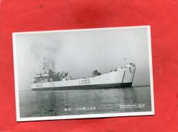 BATEAU DE GUERRE MILITARIA   1950   BD CHELIFF  INDOCHINE /  ALGERIE    EDIT  MARIUS BAR TOULON - Warships