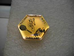 Pin´s Du Racing-Club Lustucru (R.C.L) à OURSCAMP. Tennis, Cyclisme, Football - Cycling