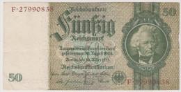 Reichsbanknote 50 Reichsmark, Berlin 1933, F 27990838, Deutschland, Drittes Reich - [ 4] 1933-1945 : Troisième Reich