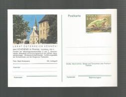 HOHENEMS IM RHEINTAL AUSTRIA ÖSTERREICH IHR URLAUBSZIEL POSTKARTE POSTCARD - Enteros Postales