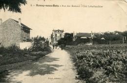 V376 Cpa 93 Rosny Sous Bois - Rue Des Bertaud, Cité Labarbaudière - Rosny Sous Bois
