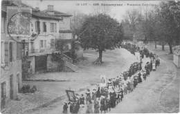 Sousceyrac Procession Catholique - Sousceyrac