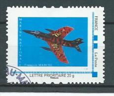 26 TPAM - TIMBRE PERSONNALISÉ OBLITÉRÉ -  AVION MARINE NATIONALE - France