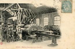 V399 Cpa 62 Bruay - Machine D'Extraction De La Fosse N°5 - France