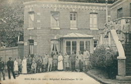 76 BOLBEC / Hôpital Et Son Personnel / - Bolbec