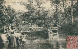 76 CANY BARVILLE / Le Pont Et Le Gué / - Cany Barville