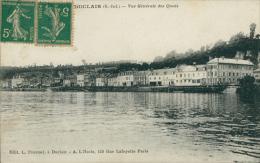 76 DUCLAIR / Vue Générale Des Quais / - Duclair