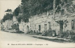 76 DUCLAIR / Habitations Troglodytes / - Duclair