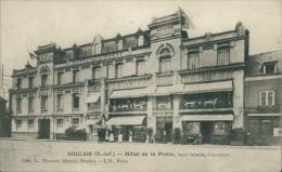 76 DUCLAIR / Hôtel De La Poste, Propriétaire Henri Denise / - Duclair