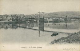76 ELBEUF / Pont Suspendu / - Elbeuf