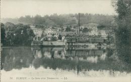 76 ELBEUF / La Seine Et Les Teintureries / - Elbeuf