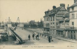 76 ELBEUF / Pont Suspendu Et Saint Aubin / - Elbeuf