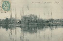 76 ELBEUF / L'Ile De L'Epinette / - Elbeuf
