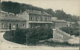 76 ELBEUF / Gare D'Elbeuf Ville / - Elbeuf
