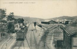 76 ELBEUF / La Gare, Le Départ / - Elbeuf