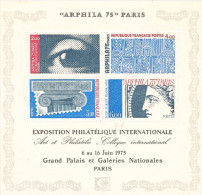 Xposition Philatélique Internationale 1975     Bloc  Feuillet Cote 12 € Neuf
