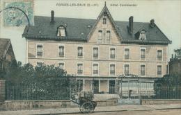 76 FORGES LES EAUX / Hôtel Continental /  BELLE CARTE COULEUR - Forges Les Eaux