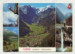 SWITZERLAND - AK 256959 Linthal - Schweiz - Am Klausen - GL Glaris