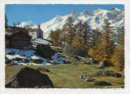 SWITZERLAND - AK 256960 Triftalp Mit Mischabelgruppe - VS Valais