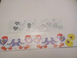 KINDER SURPRISE  K 97:    BPZ + Stickers  N°  92 - Notices