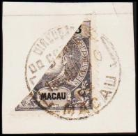 1903. 3 A. Bisected. (Michel: A 129) - JF192620 - Macao