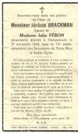 Rouvroy Harnoncourt Jerome Brackman Epoux De Julia Feron 1869 1943 - Rouvroy