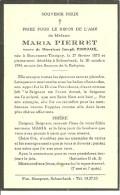 Tintigny Breuvanne Maria Pierret Veuve De Joseph Pireaux Breuvanne 1873 Schaerbeek 1954 - Tintigny