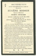Musson Eugene Bodson Epoux De Maria Evrard Musson 1877 1923 - Musson