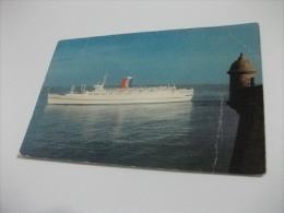 NAVE SHIP TSS CARNIVALE   SAN JUAN PUERTO RICO - Dampfer