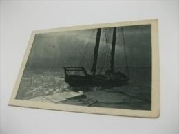 NAVE SHIP BARCONE FRANCOBOLLO HITLER - Chiatte, Barconi