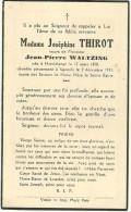 Messancy Hondelange Josephine Thiriot Veuve De Jean Pierre Waltzing Hondelange 1943 Signeulx 1943 - Messancy