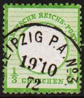 1872. 1/3 GROSCHEN LUX LEIPZIG P.A. No. 3 19 10 72.  (Michel: 17) - JF192644 - Allemagne