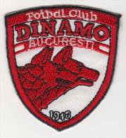 ROMANIA DINAMO BUCHAREST  FOOTBALL CLUB EMBLEM,PATCH 63 X 50 MM. - Scudetti In Tela