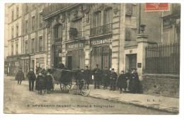 Hauts De Seine, Levallois Perret, Postes Et Telegraphes    (bon Etat) - Levallois Perret