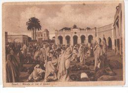 AFRICA - LIBYA - TRIPOLI - MARKET OF SUK EL GIUMA  - EDIT MEGHIDESC -  1930s - Libya