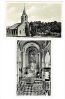 Namur Beez 2 CARTES L'église Et L'intérieur - Namur