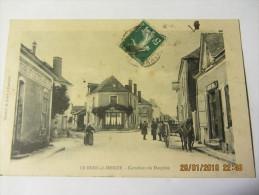 Cpa LE BREIL SUR MERIZE (72)   Carrefour Du Dauphin - Autres Communes
