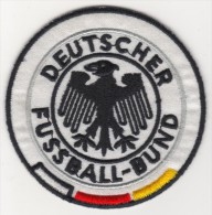 GERMANY NATIONAL FOOTBALL TEAM EMBLEM,PATCH 70 MM. - Scudetti In Tela