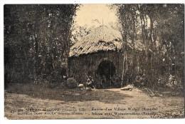 LUC 85 - EST AFRICAIN ALLEMAND (occupation Belge) - Village Watuzi *entier Postal Avec Surcharge* - Ruanda-Urundi