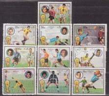 Fußball, Fujeira 1391/00 A , O  (3161) - Coppa Del Mondo