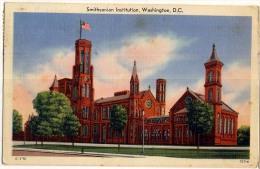 AK Amerika > Vereinigte Staaten > Washington DC  SMITHSONIAN INSTITUTION ANSICHTSKARTE 1958 - Washington DC