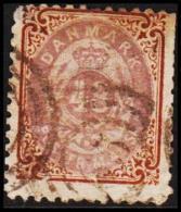 1870. Bi-coloured Skilling. 48 Skilling Lilac/brown. Line Perforated 12½. Normal Frame.... (Michel: 21IB) - JF192697 - 1864-04 (Christian IX)