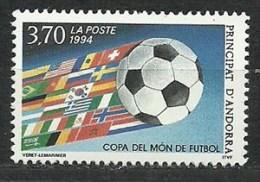 Andora 1994 , Soccer, MNH - 1994 – USA