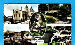SAINT JUNIEN   -   ** 5 VUES**   -   Editeur : M. ROUSSEL de Chateauroux-  N� 4918