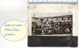 Lastra VETRO Positive PLATE GLASS - Messe A BERLINO - Piccolo Treno Elettrico - Diapositiva Su Vetro