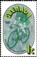 G)1976 GRENADA, CYCLING, 1976 OLYMPIC GAMES MONTREAL, CANADA, MNH - Grenada (1974-...)